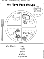 food groups and food pyramid food theme page at enchantedlearning com