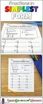 how to reduce fractions to simplest form 5th grade math 4th