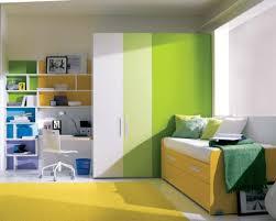 cool wardrobe designs for children bedroom with modern bookshelves