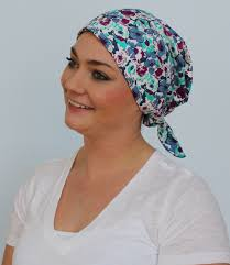 pre chemo gabrielle pre tied head scarf women s cancer headwear chemo