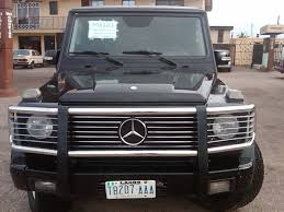 A Sharp Naija Used 2003 Mercedes Benz G500 G Wagon For Sale