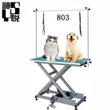 used dog grooming table china electric hydraulic lifting dog grooming exam table used in