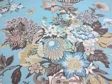 Drapery Fabric Characteristics By The Yard Floral 100 Linen Drapery Craft Fabrics Ebay