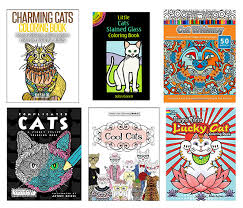 reduce stress cat coloring books adults u2022 hauspanther