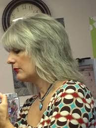 gray shag haircuts gray hair gray haircut long shag layers pretty hair
