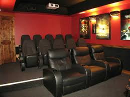 cool home theater decor stylish home theater decor gallery