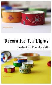decorative tea lights diwali craft whats cooking mom