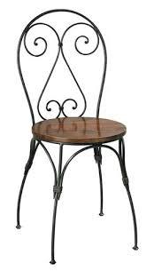 Black Metal Bistro Chairs Wrought Iron Bistro Chairs Bistro Patio Set 6 Black Wrought Iron