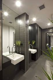 best images about commercial restrooms pinterest toilets the warm and connected offices deepend love use tile this restroom commerical office ideas design