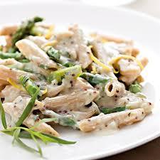 pasta recipes creamy asparagus pasta recipe eatingwell