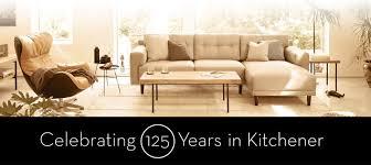 furniture stores kitchener schreiter s kitchener furniture modern transitional