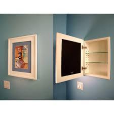 concealed cabinet 14x18 concealed recessed picture frame medicine