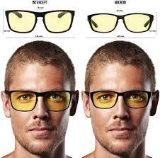 halloween contact lenses amazon amazon com intercept computer gaming glasses block blue light