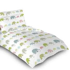 Elephant Curtains Uk Children U0027s Kids Duvet Quilt Cover Sets Or Curtains Bedding