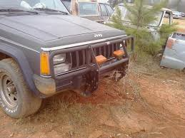 jeep front grill guard need help with warn brush guard installation jeep cherokee forum