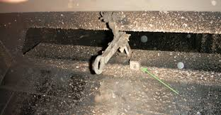 Gas Fireplace Flue by Damper Clamp Installation