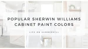 popular kitchen cabinet colors sherwin williams popular sherwin williams cabinet paint colors