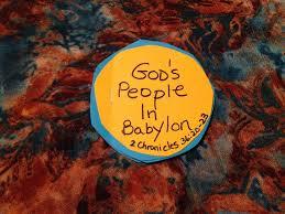 children u0027s bible lessons lesson god u0027s people in babylon