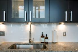 Modern Kitchen Tile Backsplash Ideas Endearing Modern Kitchen Tile Backsplash With White Rectangular