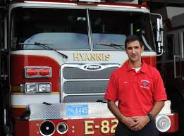 peter burke takes over as hyannis fire chief news capecodtimes