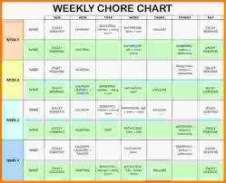 chore list template household chore list chore chart jpg letter template word