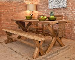 puji com contemporary kitchen furniture teak benches