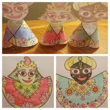 Hobby Lobby Kids Crafts - ratha yatra kids craft activity sangeeta rasa dd ratha yatra