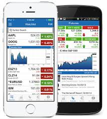 finance app for android barchart stocks futures and forex mobile app the most