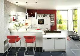 cuisine avec bar comptoir bar cuisine meuble cuisine amenagee americaine cuisine