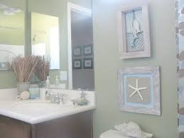 simple diy wood frame beachy bathroom accessories decoration