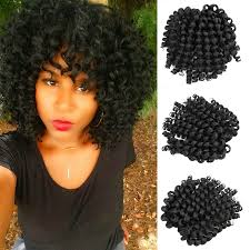 hair crochet 8 crochet hair extensions black braiding twist hair synthetic