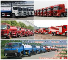 jiefang famous dongfeng faw howo foton high pressure spraying water trucks