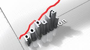 growing chart growing chart graphic animation rising population stock footage