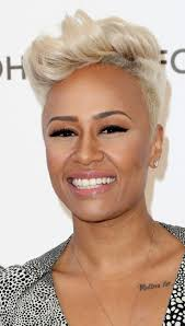 short hairstyles for black women spiked on top small curls in back and sides of hair most sexy blonde short hair black women