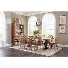 bishop drifted pine dining room table 107761 savvy discount