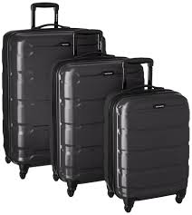best black friday deals for luggage amazon com samsonite omni pc 3 piece set spinner 20 24 28 black