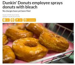 Funny Donut Meme - eat bleach funny news headlines know your meme