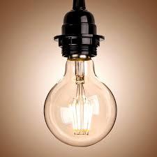 homestia 85 280v e27 medium edison chandelier edison bulbs globe
