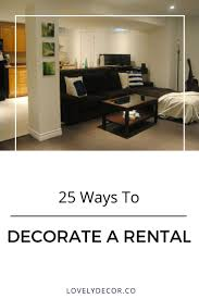 How To Decorate Your New Home 92 Best Rental Friendly Images On Pinterest Apartment Living