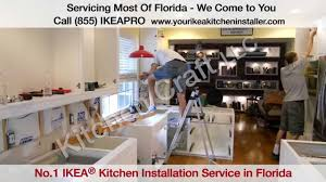 ikea kitchen cabinet assembly and installation youtube