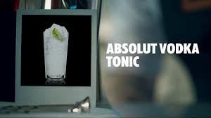 vodka tonic cranberry absolut vodka tonic drink recipe how to mix youtube