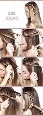 how to make the perfect one sided braid u2013 the side talk blog
