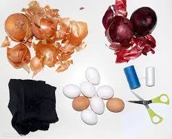 Decorating Easter Eggs With Onion Skins by Decorate Easter Eggs Using Organic Matter