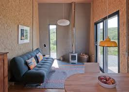 inside a couple u0027s compact self built holiday home for rent in