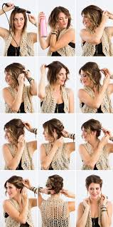 Hairstyle Steps For Girls by Diy A Twisted Updo With This Tutorial Hair Hair Pinterest