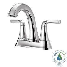 pfister bathroom sink faucets chrome pfister double handle centerset bathroom sink faucets