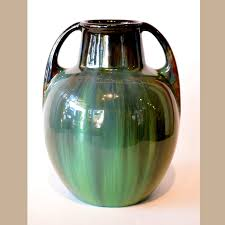 Vase Shaped Jug Fulper Vase Shape 643 For Sale Dalton U0027s American Decorative