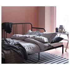 fyresdal day bed frame black 80x200 cm ikea