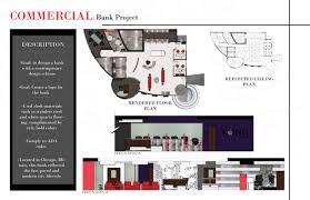 Floor Plan Of A Bank by Interior Design Student Portfolio Asid Decorating Ideas