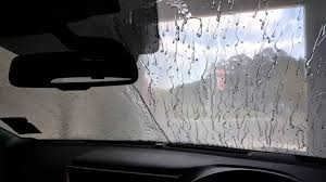 vehicle carwash showing fend glass u0026 ceramic treatment vs